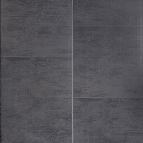 Anthracite Large Tile Effect PVC Wall Cladding - 2800mm x 400mm x 8mm
