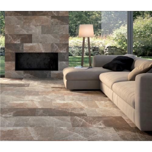 Assuan Brown/Beige Wall & Floor Tile 205mm x 615mm