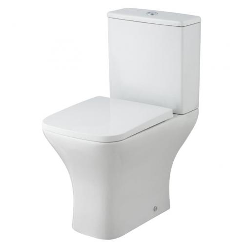 Ava Square Toilet with Seat