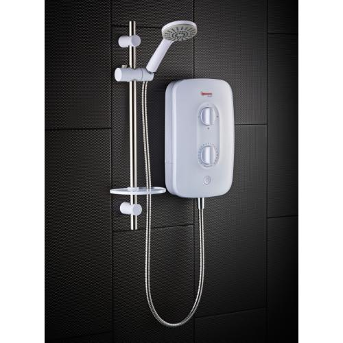 Redring Bright 8.5kw White Electric Shower