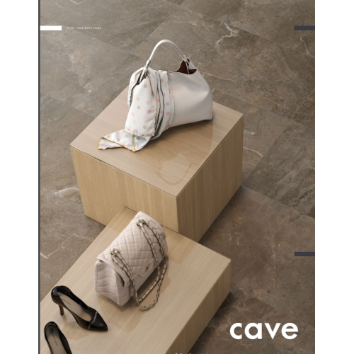 Cave Brown Porcelain Wall & Floor Tile 900mm x 450mm