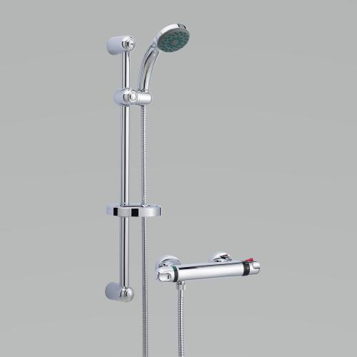 Thermostatic Bar Shower with Slide Rail Kit