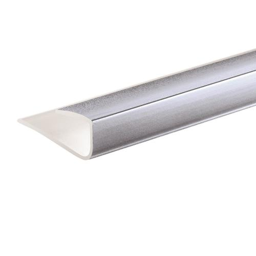 PVC end cover 2400mm x 10mm