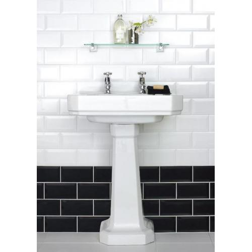 Biselado White Wall Tile 200mm x 100mm