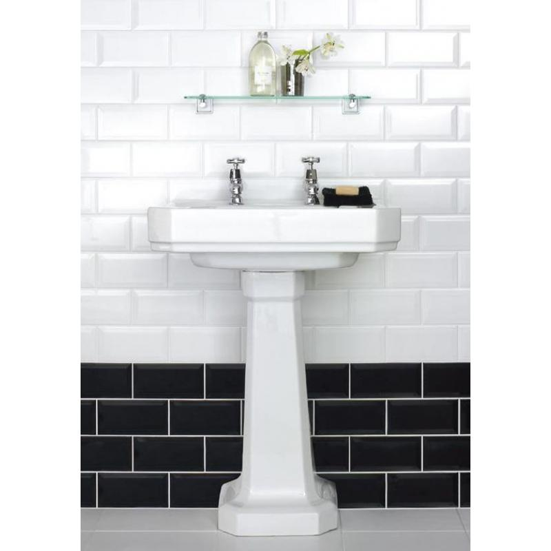 Kitchen Wall Tiles Height: Biselado Blanco 20 X 10 Bathroom & Kitchen Wall Tile