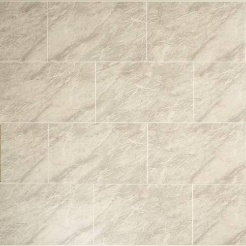 Grey Marble Tile Effect PVC Wall Cladding - 2800mm x 250mm x 8mm