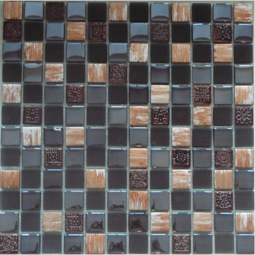 Mosaic Brown Bronze Tile 300mm x 300mm