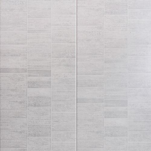 Smoked Grey Small Tile Effect PVC Wall Cladding - 2800mm x 400mm x 8mm