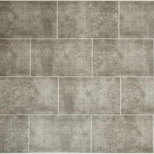 Stone Graphite Tile Effect PVC Wall Cladding - 2800mm x 250mm x 8mm