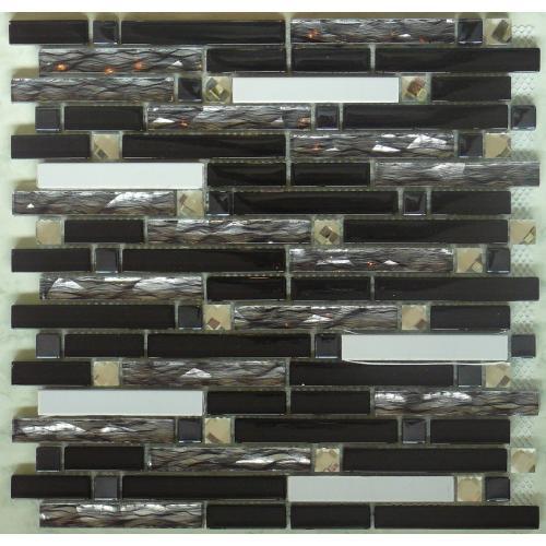 Mosaic Crystal Diamond Tile 300mm x 300mm