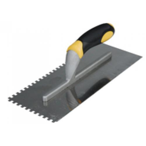 Soft Grip Notch Trowel