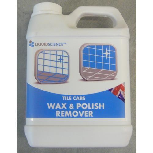 Wax & Polish Remover