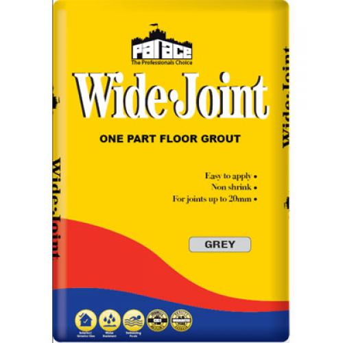 Wide Joint Floor Grout - Grey